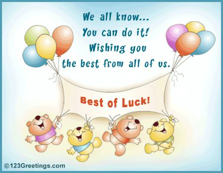 22 best Best of Luck Quotes And Wallpapers images on Pinterest - exam best wishes cards