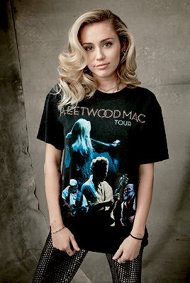 """"""" Miley Cyrus photographed for MusiCares Person Of The Year Honoring Fleetwood Mac. """""""