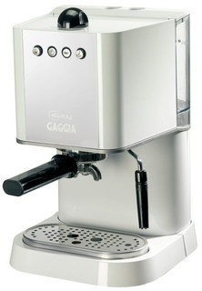 Love good coffee. Love this Gaggia baby white.