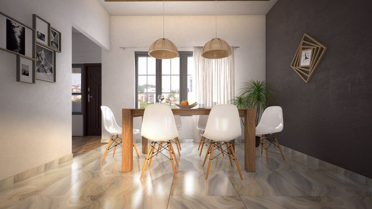 Dining area at luxury 2BHK apartments at Emmanuel Heights | RSP architect rendering of indoor