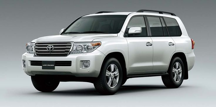 toyota-landcruiser four wheel drive