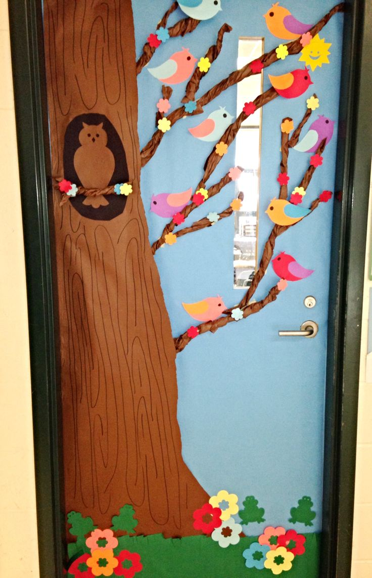 Spring Themed Classroom Decorations ~ Best images about spring doors on pinterest