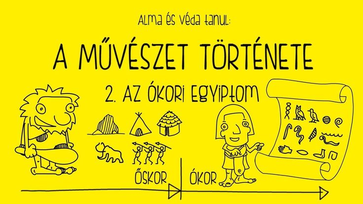 A művészet története gyerekeknek - 2. Az ókori Egyiptom