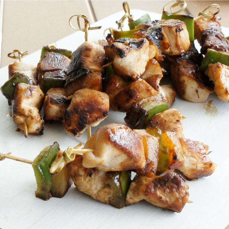 #RecipeoftheDay: Chicken Kebabs by Louise1