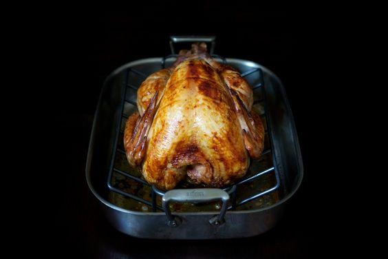Our favorite centerpiece: Russ Parsons' Dry-Brined Turkey (a.k.a. The Judy Bird)