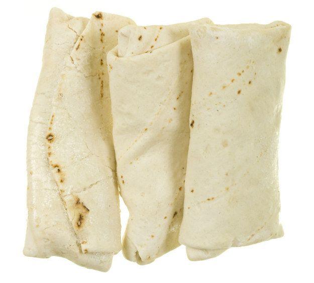 Burritos auch voraus vorbereitet und in dem Gefrierschrank gelagert werden. | 15 Insanely Easy Ways To Pack Your Lunch More Often