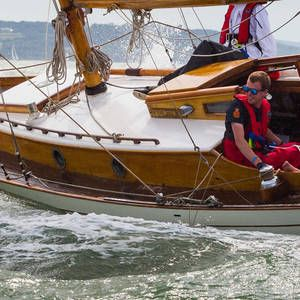 THE CLASSIC YACHTS GATHER AT COWES FOR THE ENGLISH ROUND OF THE PANERAI CLASSIC YACHTS CHALLENGE