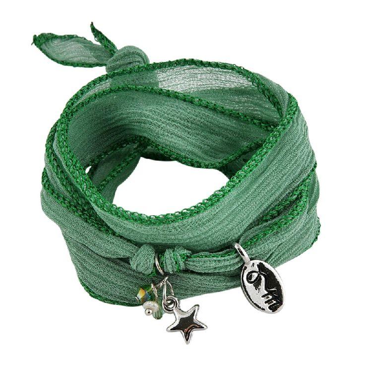 rakhi armband Hemlock Green: Modest & Social  www.pimpt.nl