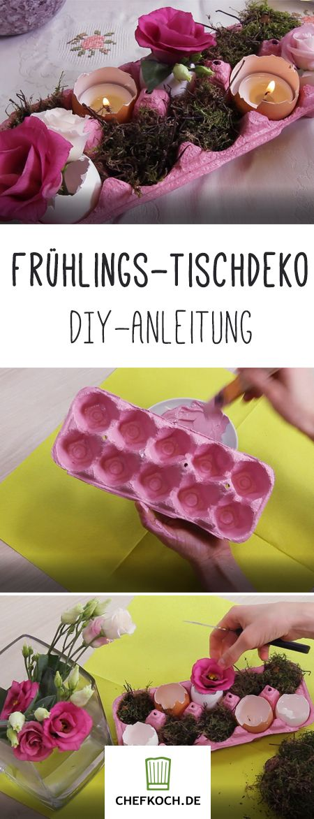 Frühlingsdeko für den Tisch