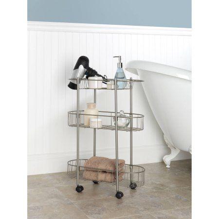 Chapter Rolling Bathroom Cart