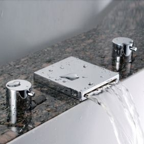 Awesome - this is more or less the ribbon faucet I want on my whirlpool tub.