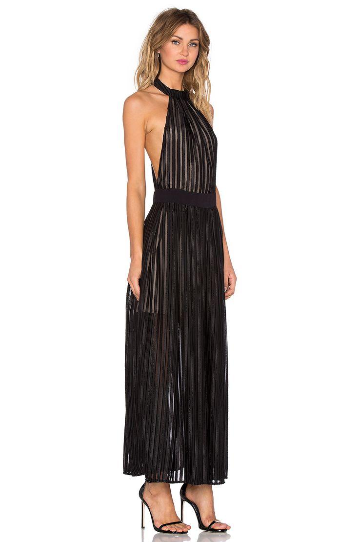 NBD Regal Maxi Dress in Black | REVOLVE