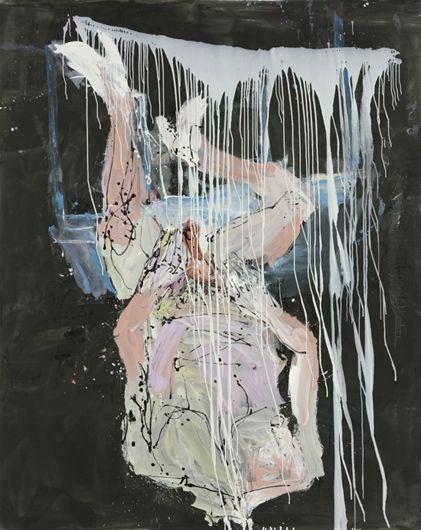 Georg Baselitz, Sono scuro, 2010 Oil on canvas 250 x 200 cm