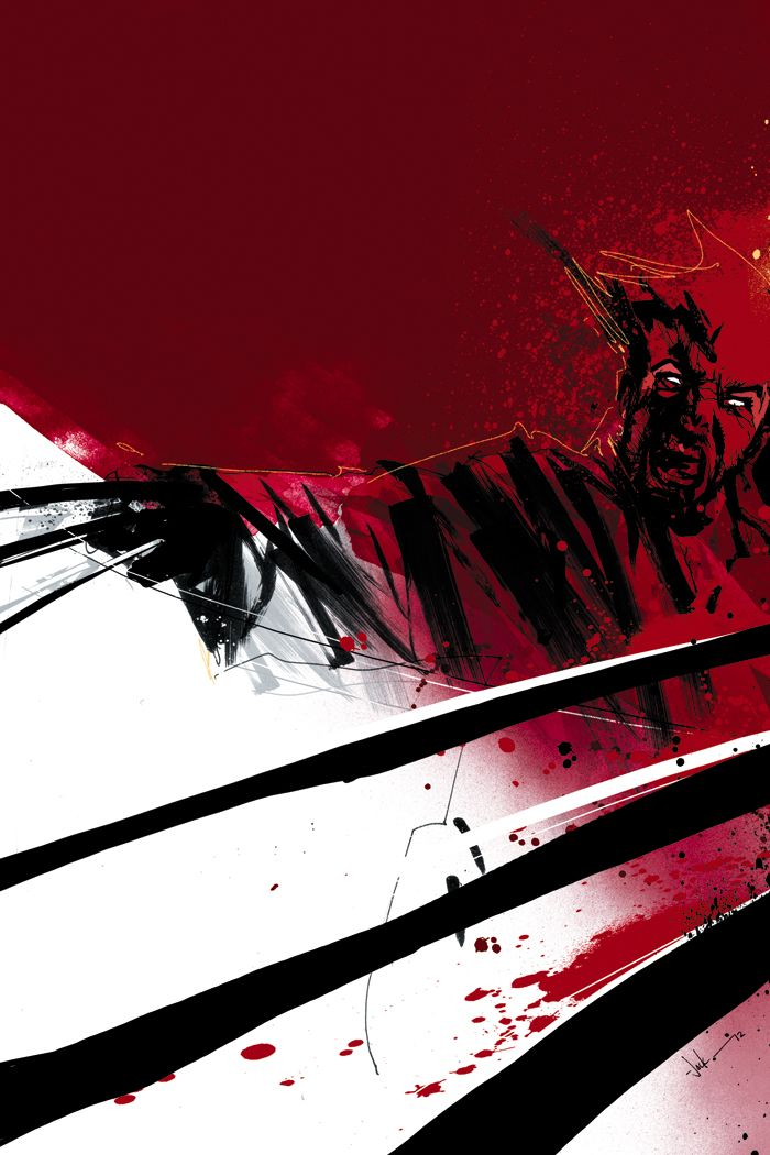 Wolverine Max Issue #3: Cover by Jock
