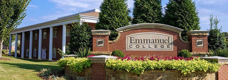 Emmanuel College - Franklin Springs, GA #georgia #LavoniaGA #shoplocal #localGA