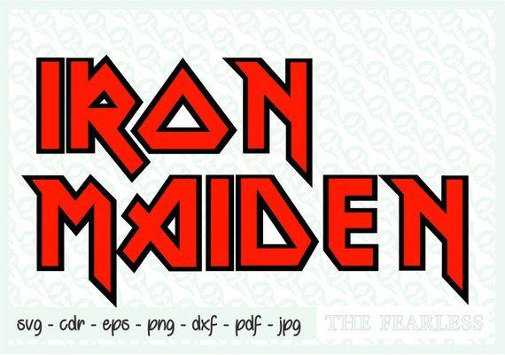 Symbol Iron Maiden Logo Estampas Os Originais