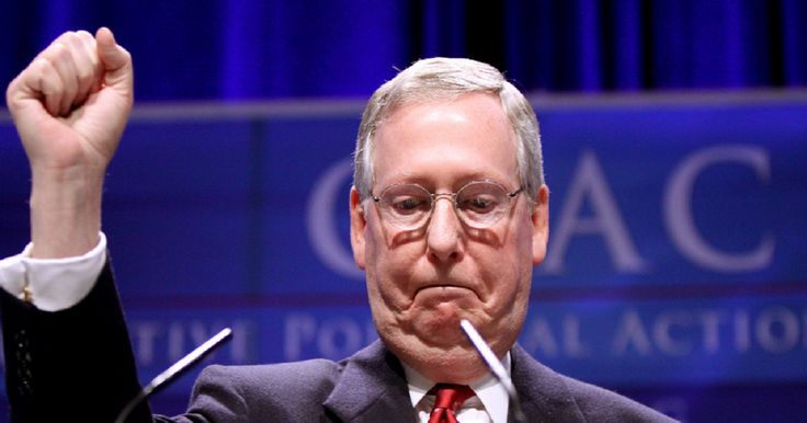 """Wait until you see what the 1970 Mitch McConnell had to say: …""""THE SENATE SHOULD DISCOUNT THE PHILOSOPHY OF THE NOMINEE…THE PRESIDENT IS PRESUMABLY ELECTED BY THE PEOPLE TO CARRY OUT A PROGRAM AND ALTERING THE IDEOLOGICAL DIRECTIONS OF THE SUPREME COURT WOULD SEEM TO BE A PERFECTLY LEGITIMATE PART OF A PRESIDENTIAL PLATFORM. TO THAT END, THE CONSTITUTION GIVES TO HIM THE POWER TO NOMINATE."""""""