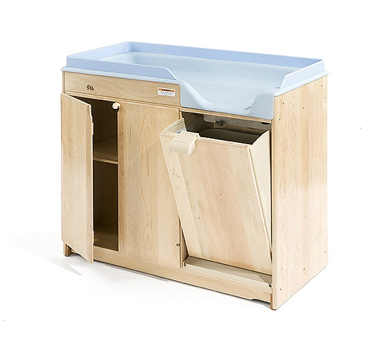"""Changing Table without Steps, 6"""" Pan"""
