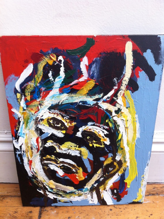 Colourful by JeffreyLouisReed on Etsy, £300.00