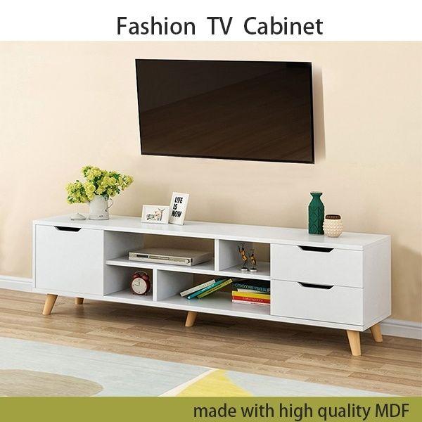 modern wood multipurpose organizer tv