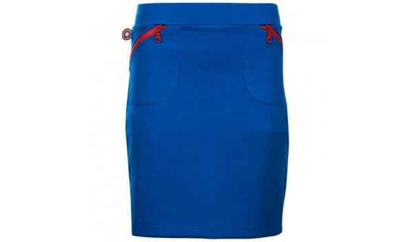 Gaaf rokje van 4FuinkyFlavours in een knal blauwe kleur met kontrast oranje…