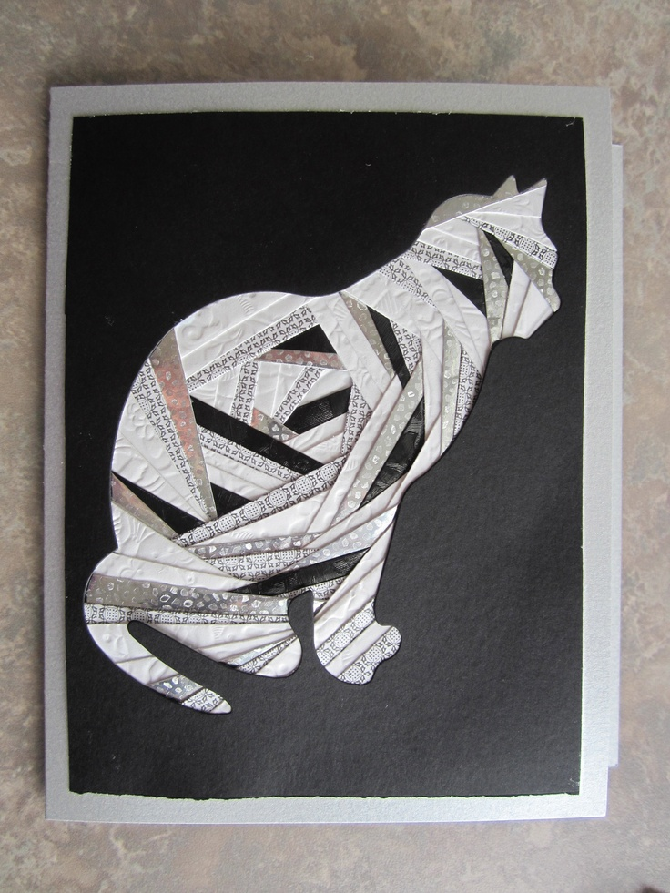Cat Iris Folding Card By Carolyn Michelsen I Love Iris