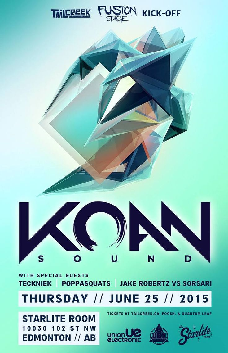 Thursday, June 25th - Koan Sound @ The Starlite Room — EDM Canada