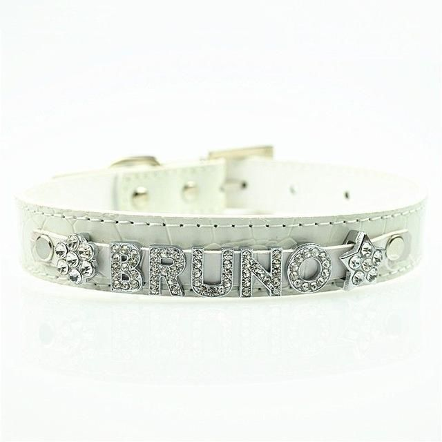 Personalised Dog Collar (Free & 5 PCS Letter & 1PCS Charms )