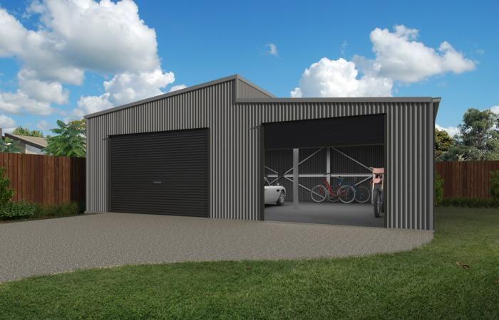 Custom Skillion Garages 1 Shed Workshop In 2019 Garage