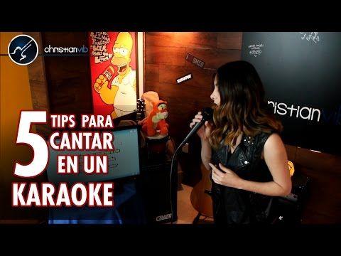 5 TIPS para CANTAR Bien en un KARAOKE   Clases de Canto