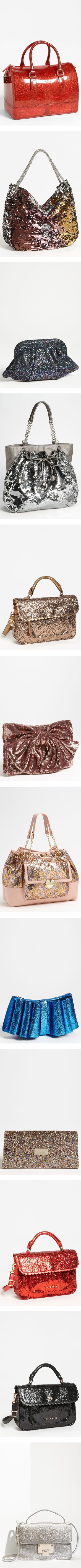 """""""NORDSTROM: Bags that Sparkle"""" by nordstrom on Polyvore   - NORDSTROM: Bags that scream """"I'm a prostitute"""""""