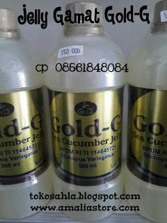 Toko Sahla ( sms or wa 0856.184.80.84 ): Jelly Gamat Gold-G