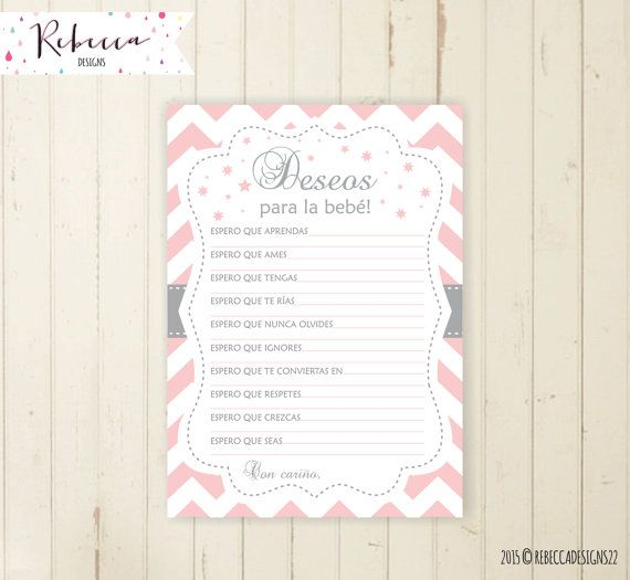 baby shower wishes for baby in spanish deseos para la bebe espa ol