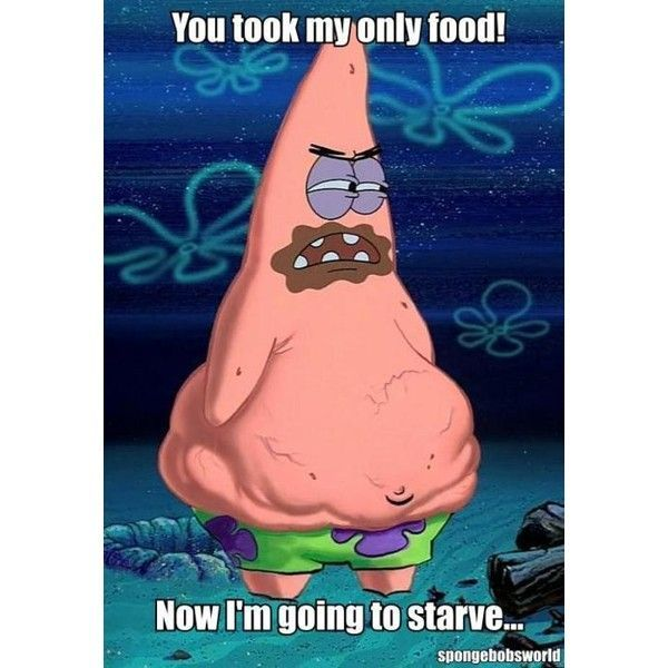 wow Patrick I think you can go a few days w/o eating food besides real starfish do