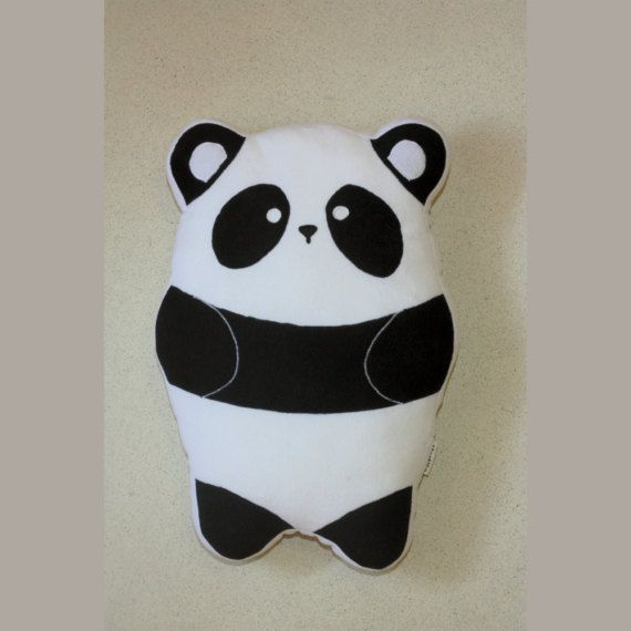 Panda Pillow 23.6 60cm   Plushie  Plush Pillow   Cute by Martilio
