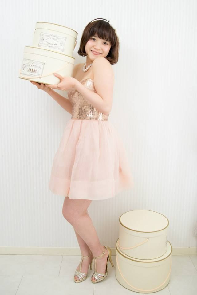 Dolly pink dress