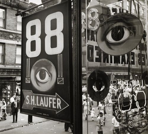 the eye, lower east side, nyc - william witt, 1948