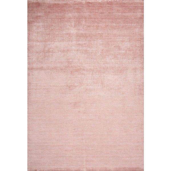Surya Pure Pur-3002 Pastel Pink Area Rug ❤ liked on Polyvore featuring home, rugs, pale pink rug, baby pink rug, pale pink area rug, blush pink rug and light pink rug