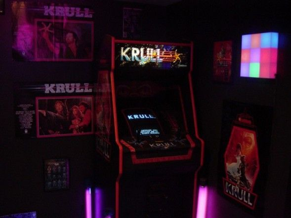 KRULL Arcade Game 80's