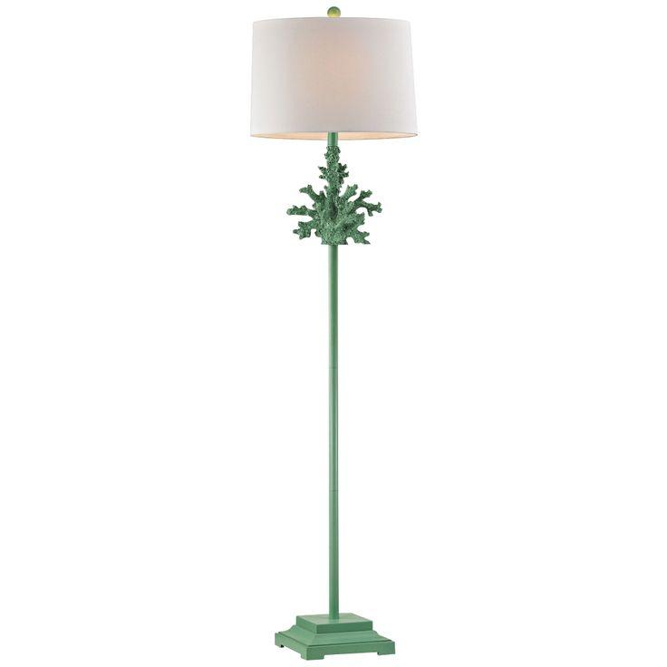Dimond Sea Coral Spearmint Green Floor Lamp - Style # 9V042