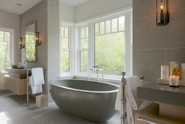 New Canaan Addition - transitional - bathroom - new york - RR Builders, LLC