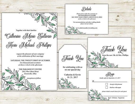 Best 25 Diy wedding invitation suites ideas on Pinterest