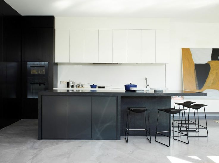 www.canny.com.au ph: (03) 8532 4444 Modern kitchen #kitchen #canny #blackandwhite