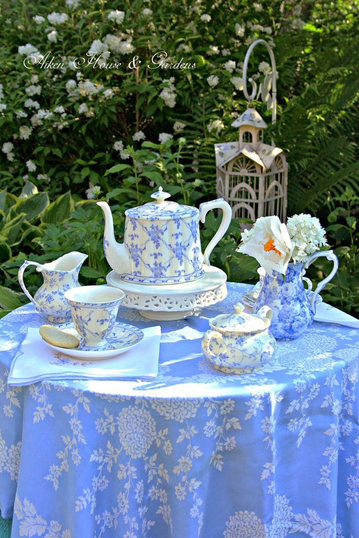 Aiken House & Gardens: Tea in the Garden