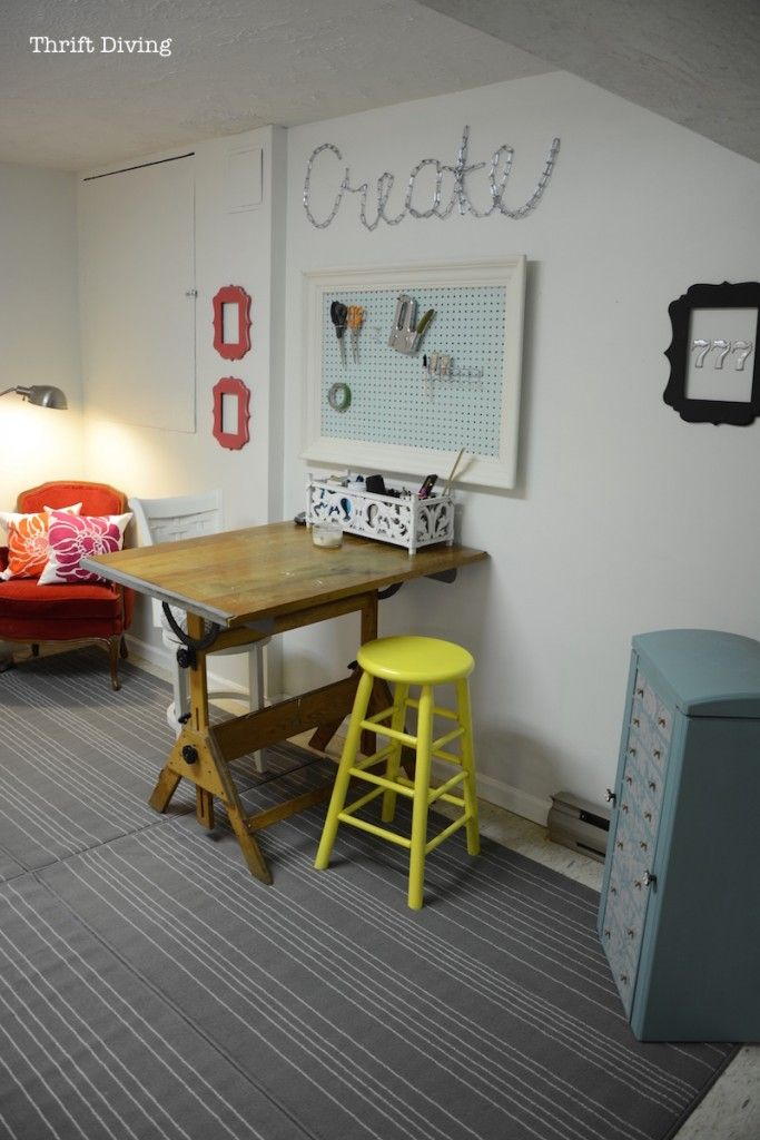 17 Best Ideas About Basement Home Office On Pinterest Basements Desk Under Stairs And Space