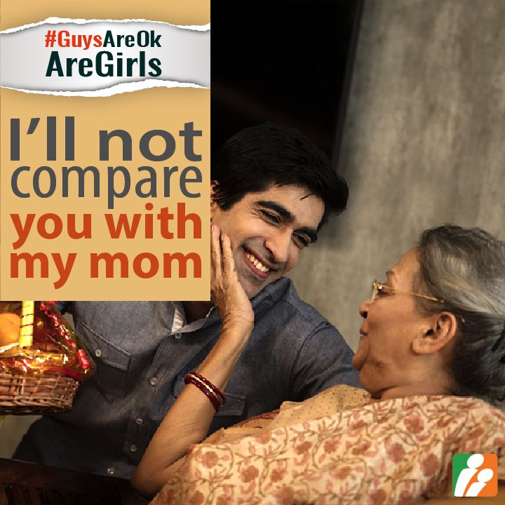 "10) Are ""mama's boys"" ready to stop comparing wife with their mom? Yes/ No and WHY? #GuysAreOkAreGirls"