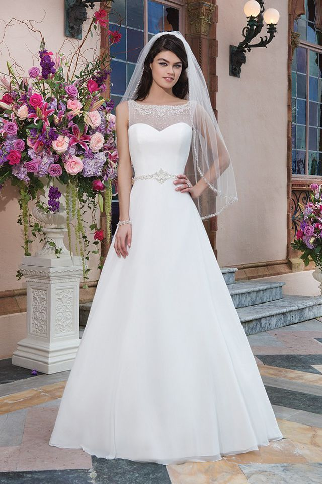 Suknia ślubna Sincerity 3827-001 2016