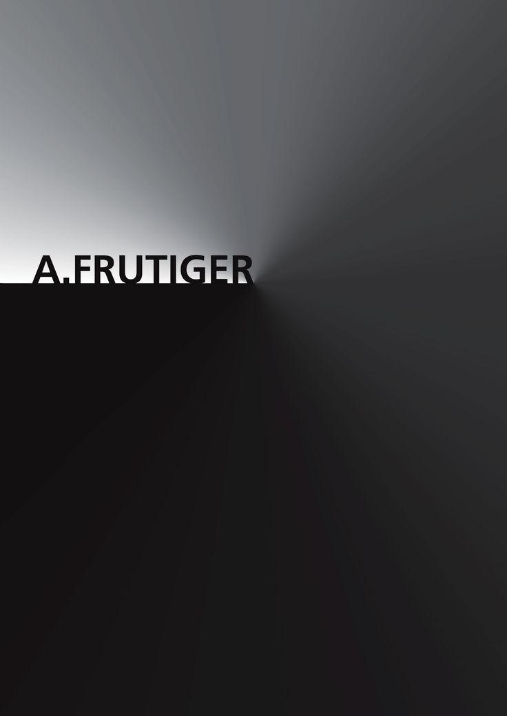 Hommage - Adrian FRUTIGER