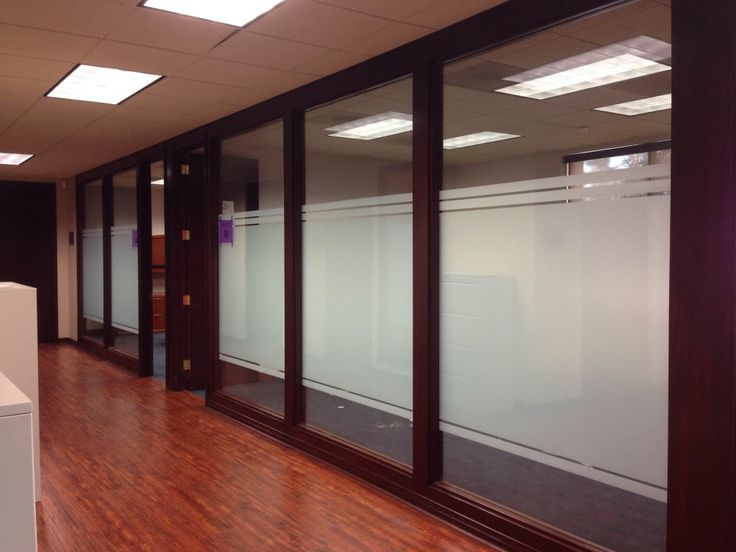 Custom Frost Window Film For Office Space In Los Angeles
