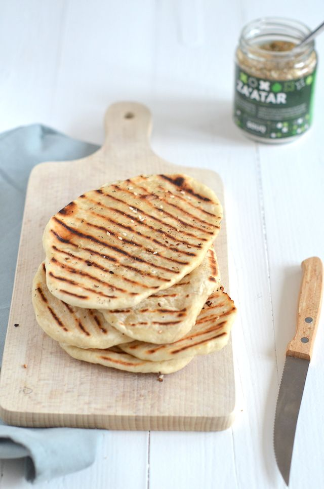 2 ingredient Naan bread